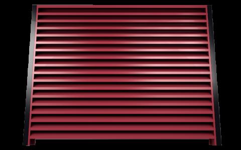 Металлический забор жалюзи 3005